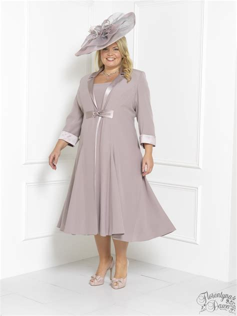 swing dress wedding florentyna dawn steely pink brigitte dress and swing coat