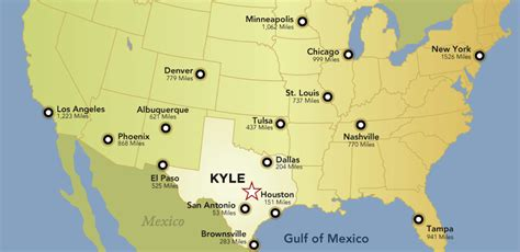 where is kyle texas on the map maps kyle texas economic development