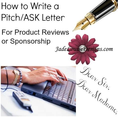 Fundraising Pitch Letter write an ask letter sle pitch letter for review
