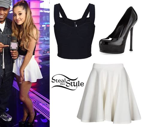 what is ariana grandes style ariana grande s clothes outfits steal her style page 10