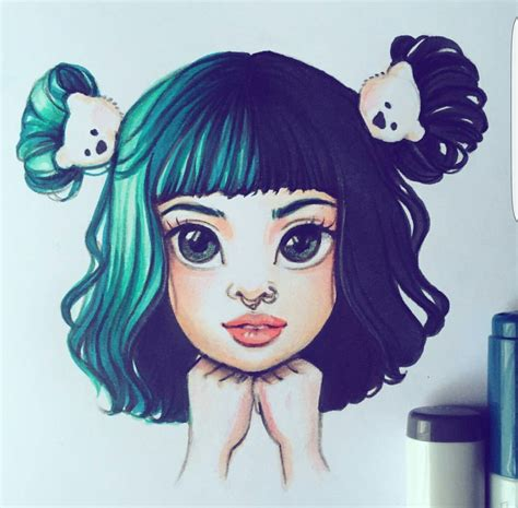 Drawing Melanie Martinez