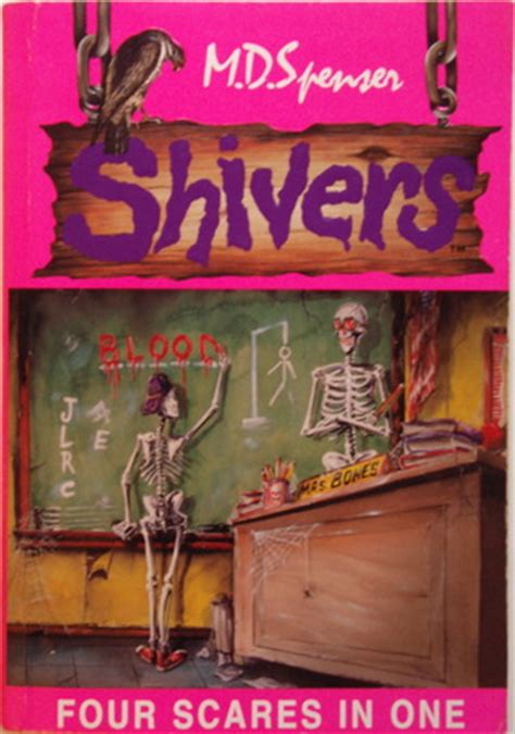 shiver books shivers four in one the enchanted attic a ghastly shade