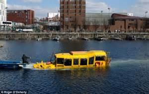 duck boat sank youtube fishing yellow duck boat sinks liverpool