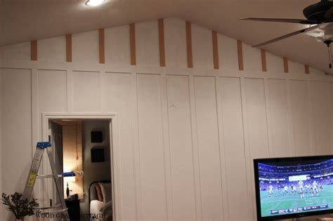 Painting For Bedroom how to install board amp batten the wood grain cottage