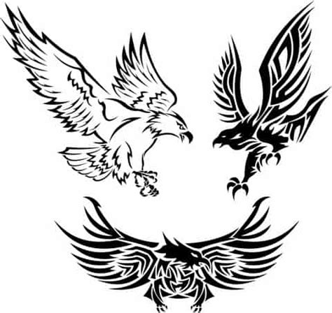 tattoo eagle vector tribal tattoo designs and meanings 35 tattoo pictures