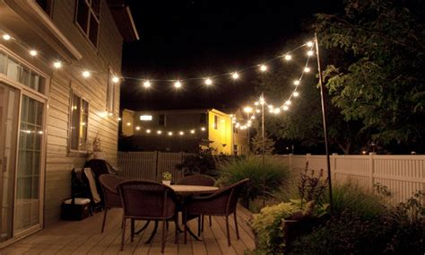 Decorative Patio String Lights by Cool Outdoor Lights Patio String Lights Diy