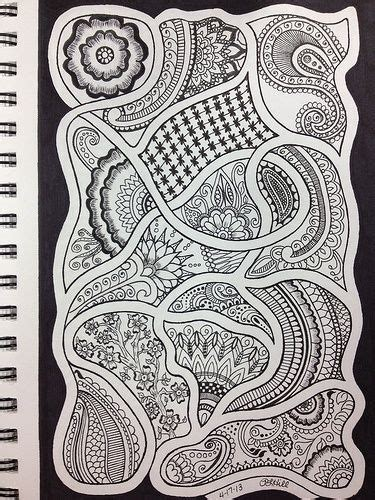 zentangle pattern sles 17 best images about zentangle art on pinterest dovers