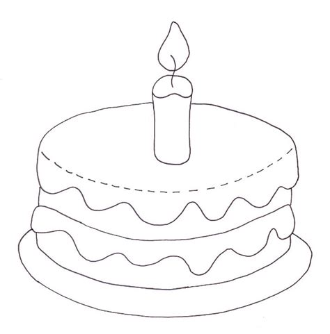 coloring page cake free a cake without candles coloring pages