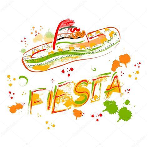 imagenes vectores fiesta invitaci 243 n de fiesta fiesta mexicana con sombrero mano