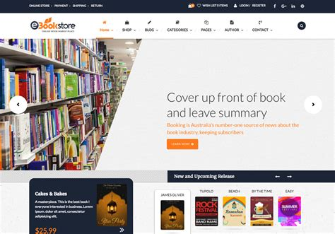 Themes In The Book Sold | sell books online using these 7 best bookstore wordpress