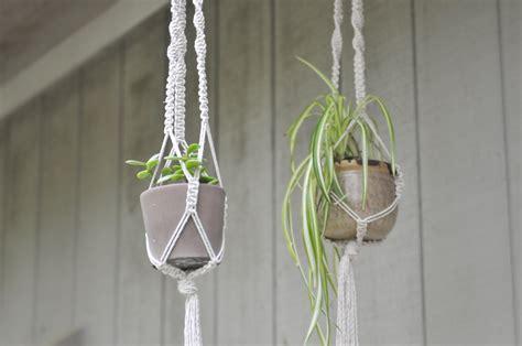 Diy Macrame Plant Hanger - liveseasoned sp15 plant hangers 4