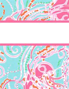 lilly pulitzer binder cover templates preppy goes back to school with lilly for