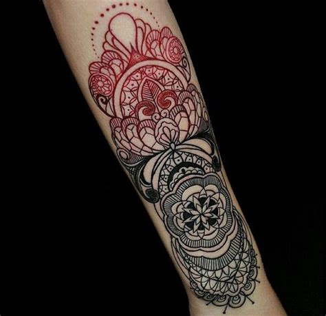red ink tattoos 105 ink designs for inspiration