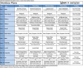 homeschooling schedule template homeschool weekly planning schedule printable trials ireland