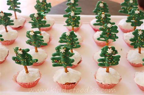 christmas tree muffins kiddie foodies