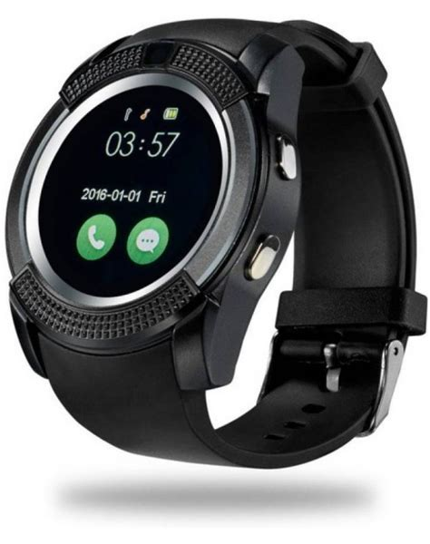 Smart V8 Support Simcard Sdcard v8 bluetooth smartwatch with sim and memory card support