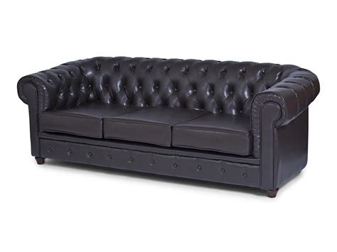 Lounge Hire Chesterfield 3 Seater Sofa Chocolate Chesterfield Sofa Hire