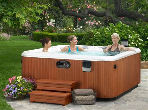 backyard hot tub the benefit of saline hot tubs for your maximum hydrotherapy