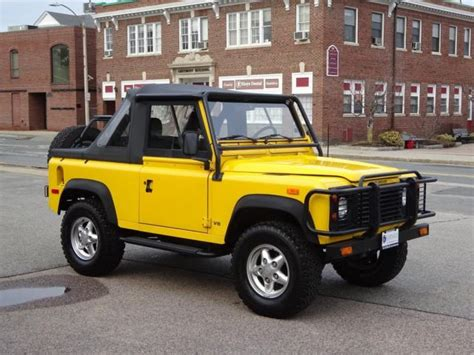 land rover defender convertible for sale 1994 land rover defender 90 convertible 5 speed a c 72k