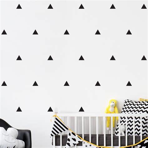 Wandtattoo Kinderzimmer Dreiecke by Wandtattoo Dreiecke Set