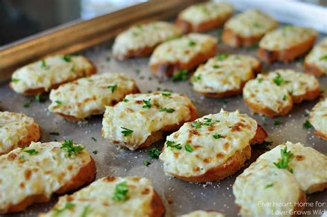 appetizers hot artichoke bruschetta or artichoke dip