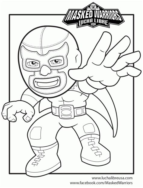 wwe lucha dragons coloring page other resolutions 177 x 240 pixels lucha dragons