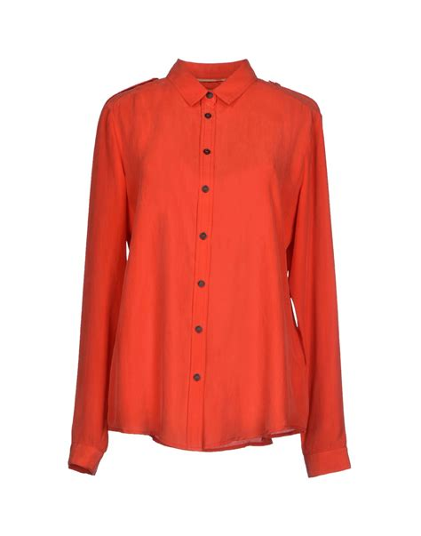 burberry brit shirt in lyst
