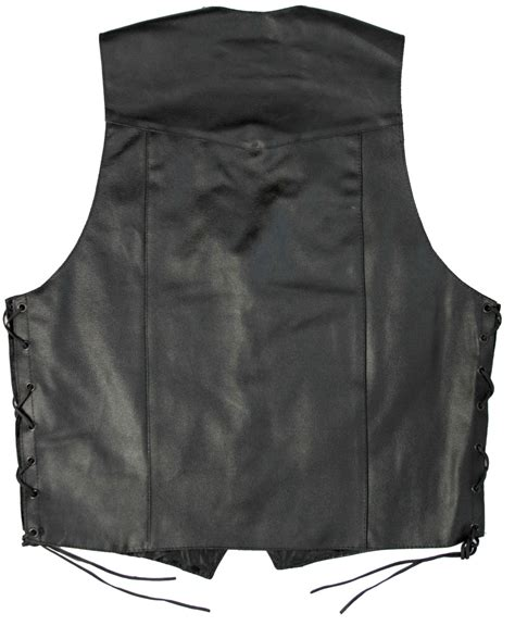 motorcycle riding vest black leather motorcycle riding vest for bikers