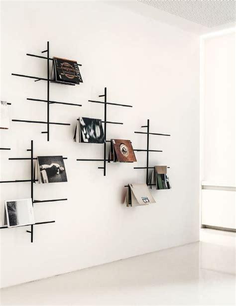 Modern Wall Mounted Magazine Rack by Modern Wall Magazine Rack Shapeyourminds