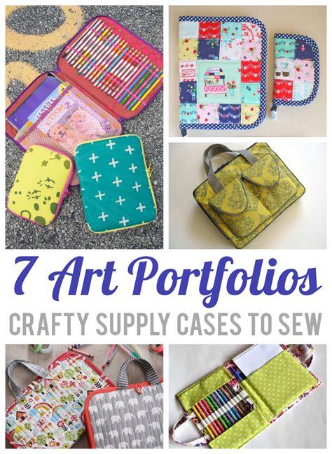artist bag pattern 7 organizer sewing patterns for art supplies