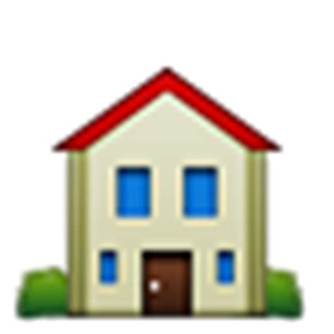 home emoji house building iphone android twitter facebook emojis