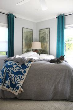 awkward bedroom layout place your bed on an angle without the awkwardness