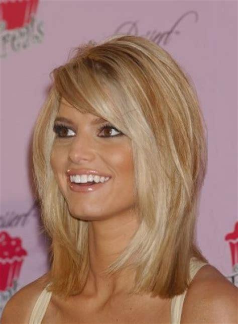 bangs haircuts for medium hair cute hairstyles for medium straight hair with bangs