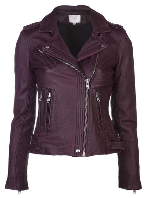 Dpurple Coat Blazer Ungu Korea Jaket lyst iro han biker jacket in purple