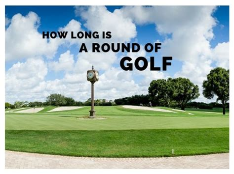 How Long Does A Golf Swing Take 28 Images Golf Basics