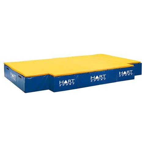 High Jump Mats by 2 750 Hart Cut Out High Jump Mat 500 Hart Sport