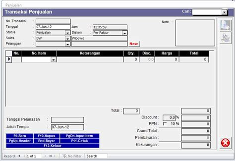 Software Kasir Profesional Program Kasir Resto Dan Retail program kasir software penjualan