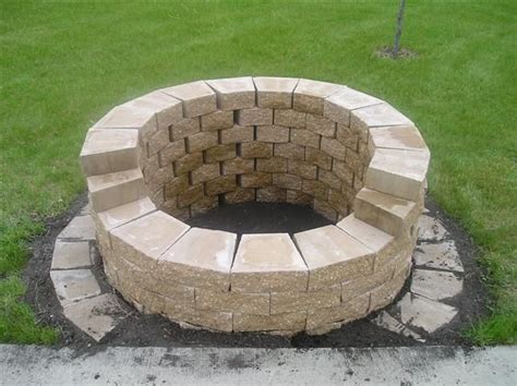 diy backyard fire pits fire pit diy cheap crafts