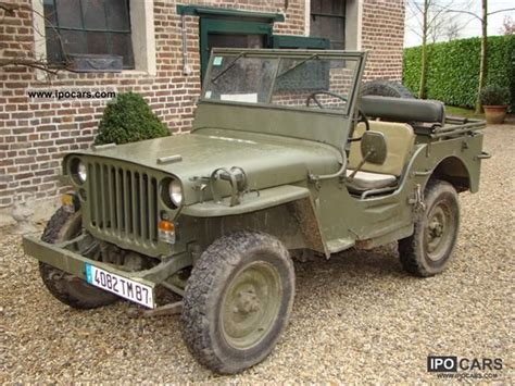1950s Jeep 1950 Jeep Mb Car Photo And Specs