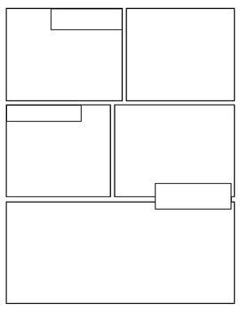 {Free} Graphic Novel (Comic Book) Templates | andy is a