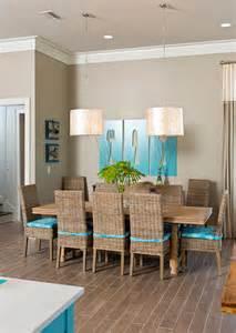 dream home at the beach beach style dining room