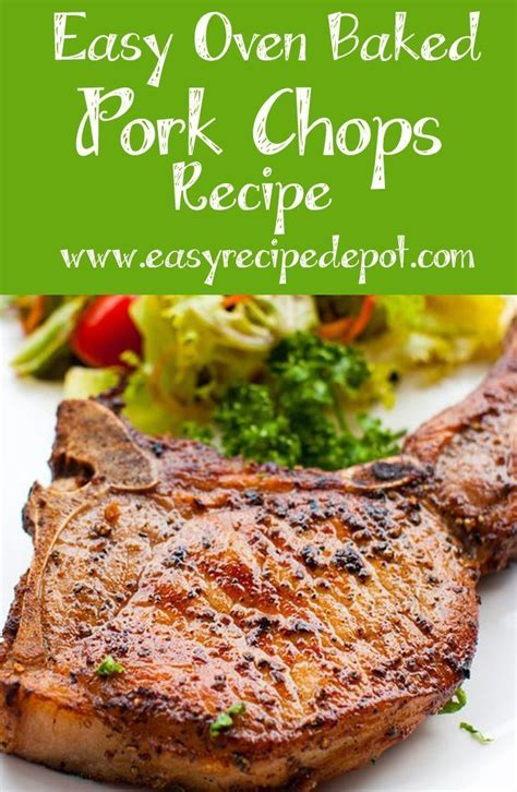 25 best ideas about baked pork chops on pinterest easy