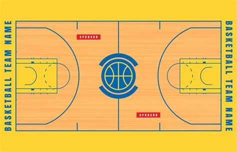 basketball court floor plan basketball court floor plan illustration download free