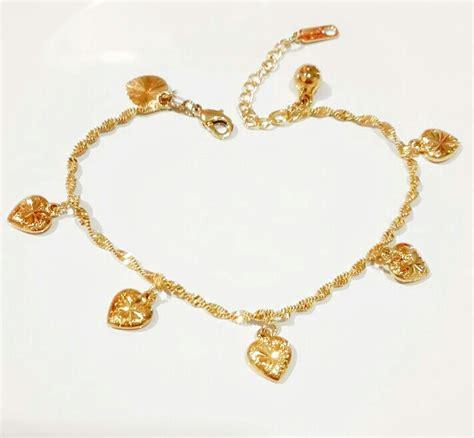 Gelang Tangan Perhiasan Xuping by Jual Gelang Tangan Rantai Xuping Lapis Emas