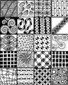 zentangle pattern charts make a zentangle design charts and patterns
