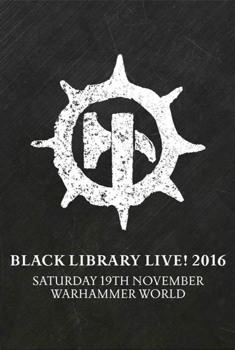 black library black library live 2016