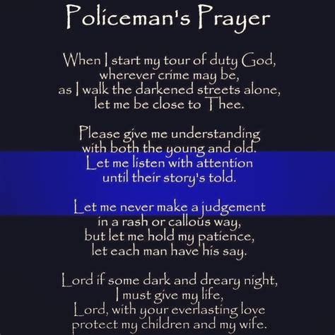 Prayers For Officers by Prayer Quotes Quotesgram