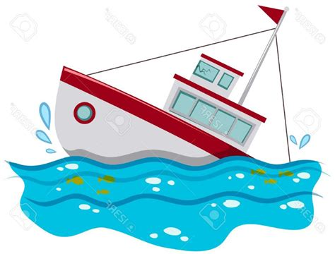 boat sinking clipart fishing boat clipart thekindproject