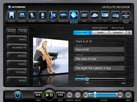 Autonomic Multi Zone Lifiers Now Compatible With Amx Control Platform Connected Magazine Crestron Gui Templates
