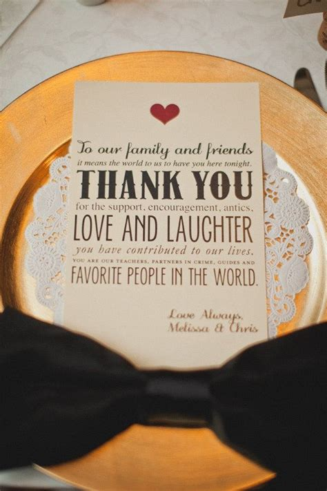 Thank You Letter Wedding Guest a thank you note for guests one day